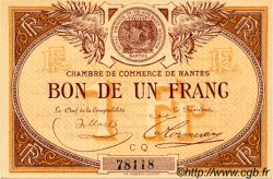 1 Franc FRANCE régionalisme et divers NANTES 1918 JP.088.23 SPL à NEUF