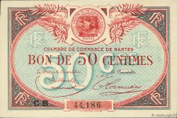 50 Centimes FRANCE régionalisme et divers Nantes 1918 JP.088.25 SPL à NEUF