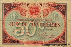 50 Centimes FRANCE régionalisme et divers Nantes 1918 JP.088.25 TB