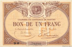 1 Franc FRANCE régionalisme et divers Nantes 1918 JP.088.27 SPL à NEUF