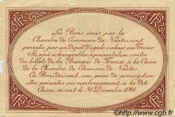 1 Franc FRANCE régionalisme et divers NANTES 1918 JP.088.27 TTB à SUP