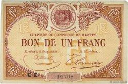 1 Franc FRANCE régionalisme et divers NANTES 1918 JP.088.27 TB