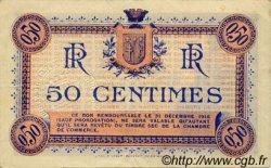 50 Centimes FRANCE régionalisme et divers NARBONNE 1915 JP.089.01 TTB à SUP