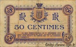 50 Centimes FRANCE régionalisme et divers Narbonne 1915 JP.089.01 TB