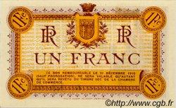 1 Franc FRANCE régionalisme et divers Narbonne 1915 JP.089.02 SPL à NEUF