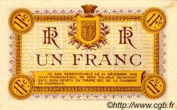 1 Franc FRANCE régionalisme et divers NARBONNE 1915 JP.089.02 TTB à SUP