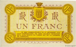 1 Franc FRANCE régionalisme et divers NARBONNE 1915 JP.089.06 SPL à NEUF