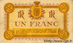 1 Franc FRANCE régionalisme et divers Narbonne 1915 JP.089.06 TTB à SUP