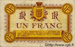1 Franc FRANCE régionalisme et divers Narbonne 1916 JP.089.11 TTB à SUP