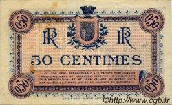 50 Centimes FRANCE régionalisme et divers Narbonne 1917 JP.089.12 TTB à SUP