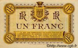 1 Franc FRANCE régionalisme et divers Narbonne 1917 JP.089.15 SPL à NEUF