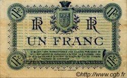 1 Franc FRANCE régionalisme et divers Narbonne 1919 JP.089.18 TTB à SUP