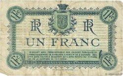 1 Franc FRANCE régionalisme et divers Narbonne 1919 JP.089.18 TB