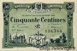 50 Centimes FRANCE régionalisme et divers Nevers 1920 JP.090.16 SPL à NEUF
