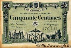 50 Centimes FRANCE régionalisme et divers NEVERS 1920 JP.090.16 TTB à SUP