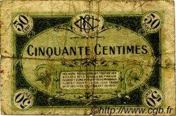 50 Centimes FRANCE régionalisme et divers NEVERS 1920 JP.090.16 TB