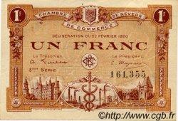 1 Franc FRANCE régionalisme et divers NEVERS 1920 JP.090.17 TTB à SUP
