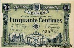 50 Centimes FRANCE régionalisme et divers Nevers 1920 JP.090.18 SPL à NEUF