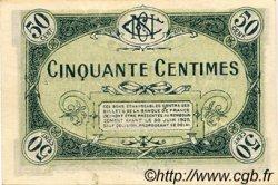 50 Centimes FRANCE régionalisme et divers Nevers 1920 JP.090.18 TTB à SUP