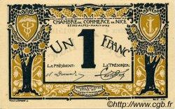 1 Franc FRANCE régionalisme et divers NICE 1917 JP.091.05 SPL à NEUF