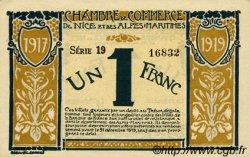 1 Franc FRANCE régionalisme et divers Nice 1917 JP.091.05 TTB à SUP