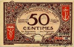 50 Centimes FRANCE régionalisme et divers Nice 1917 JP.091.06 SPL à NEUF