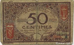 50 Centimes FRANCE régionalisme et divers NICE 1917 JP.091.06 TB