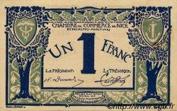 1 Franc FRANCE régionalisme et divers NICE 1917 JP.091.07