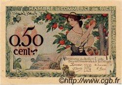 50 Centimes FRANCE régionalisme et divers Nice 1920 JP.091.09 TTB à SUP