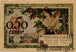 50 Centimes FRANCE régionalisme et divers Nice 1920 JP.091.09 TB