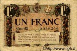 1 Franc FRANCE régionalisme et divers NICE 1920 JP.091.11 TB