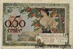 50 Centimes FRANCE régionalisme et divers Nice 1920 JP.091.14 TB