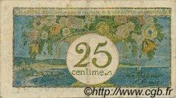 25 Centimes FRANCE régionalisme et divers NICE 1918 JP.091.16 TB