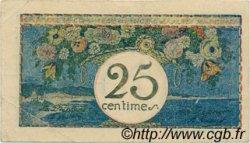 25 Centimes FRANCE régionalisme et divers NICE 1918 JP.091.17 TTB à SUP