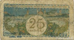25 Centimes FRANCE régionalisme et divers Nice 1918 JP.091.17 TB