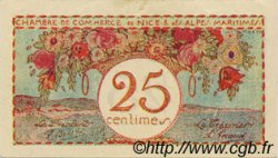 25 Centimes FRANCE régionalisme et divers Nice 1918 JP.091.18 SPL à NEUF