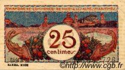 25 Centimes FRANCE régionalisme et divers Nice 1918 JP.091.19 TTB à SUP