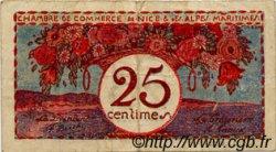 25 Centimes FRANCE régionalisme et divers NICE 1918 JP.091.19 TB