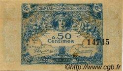 50 Centimes FRANCE régionalisme et divers NÎMES 1915 JP.092.01 TTB à SUP