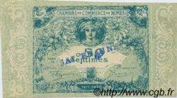 50 Centimes FRANCE régionalisme et divers NÎMES 1915 JP.092.04 SPL à NEUF