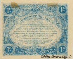 1 Franc FRANCE régionalisme et divers NÎMES 1915 JP.092.06 SPL à NEUF