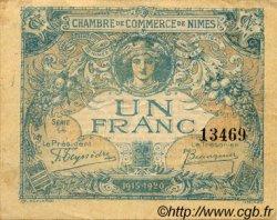 50 Centimes FRANCE régionalisme et divers NÎMES 1915 JP.092.10 TTB à SUP