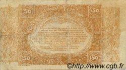 50 Centimes FRANCE régionalisme et divers NÎMES 1915 JP.092.12 TTB à SUP