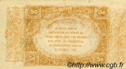 50 Centimes FRANCE régionalisme et divers Nîmes 1917 JP.092.17 TTB à SUP