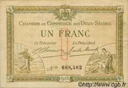1 Franc FRANCE régionalisme et divers NIORT 1915 JP.093.03 TB