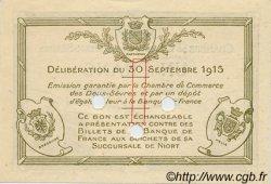 1 Franc FRANCE régionalisme et divers NIORT 1915 JP.093.05 SPL à NEUF