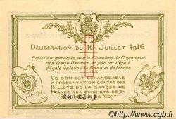 1 Franc FRANCE régionalisme et divers Niort 1916 JP.093.08 SPL à NEUF