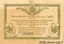 1 Franc FRANCE régionalisme et divers NIORT 1916 JP.093.08 TTB à SUP