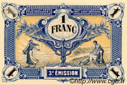 1 Franc FRANCE régionalisme et divers Niort 1920 JP.093.11 SPL à NEUF
