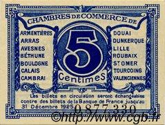 5 Centimes FRANCE régionalisme et divers NORD ET PAS-DE-CALAIS 1918 JP.094.01 SPL à NEUF